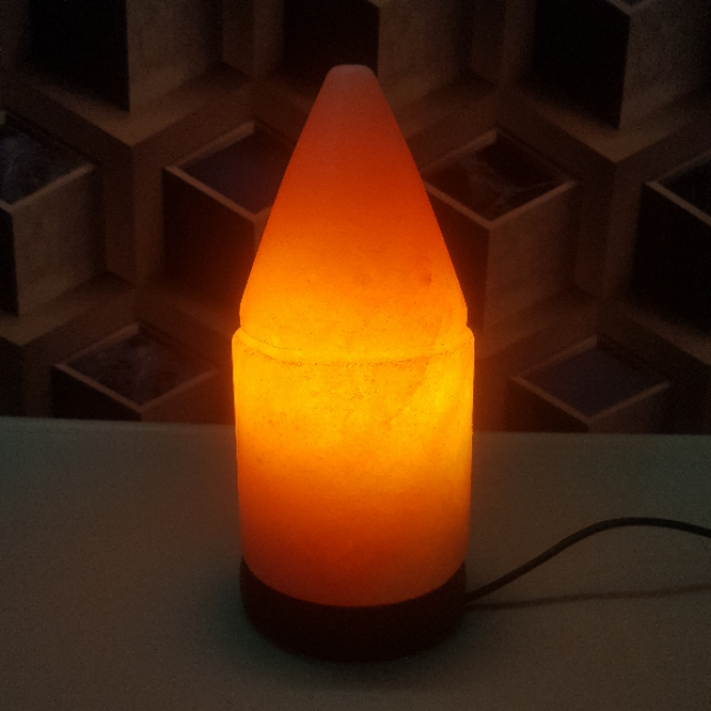 himalayan bullet lamp with light